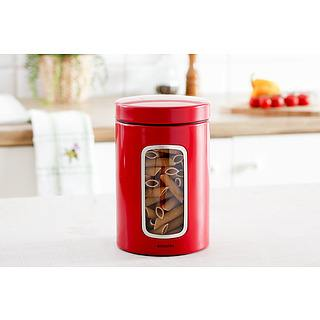 Puszka metalowa BRABANTIA PASSION RED 1,4 l