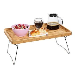 Stolik śniadaniowy Do łóżka Drewniany Sagaform Nature 50 X