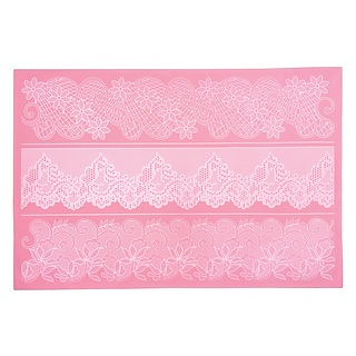 Szablon do dekoracji ciast silikonowy KITCHEN CRAFT SWEETLY DOES IT ROSEA LACE