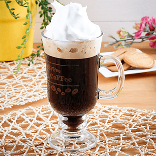 Szklanka do irish coffee ZIARNA KAWY 230 ml