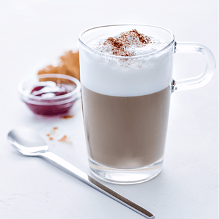 Szklanka do kawy latte macchiato LEONARDO LOOP 370 ml