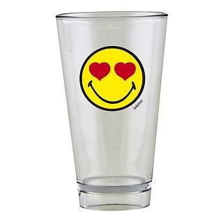 Szklanka do napojów ZAK DESIGNS LOVE SMILEY 300 ml
