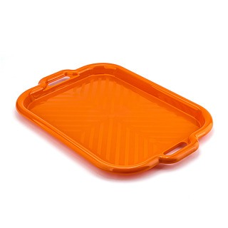 Taca plastikowa DRINK ORANGE 43 x 32 cm