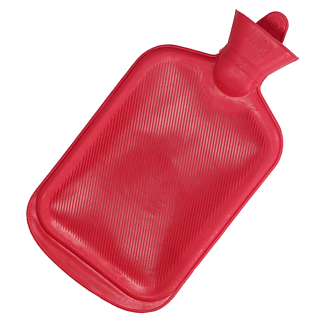 Termofor gumowy RED 2 l