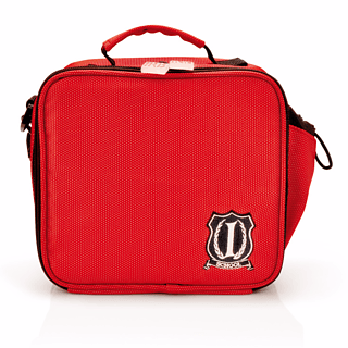 Torba na lunch IRIS MINI LUNCH BAG SCHOOL CZERWONA