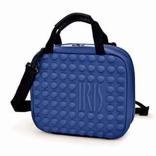 Torba na lunch IRIS TWIN BAG NIEBIESKA
