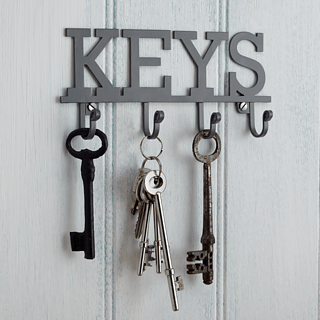 Wieszak na klucze KITCHEN CRAFT LIVING NOSTALGIA KEYS