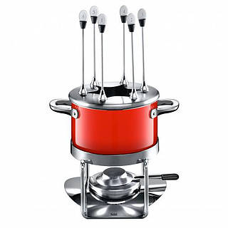 Zestaw do fondue silarganowy SILIT ENERGY RED