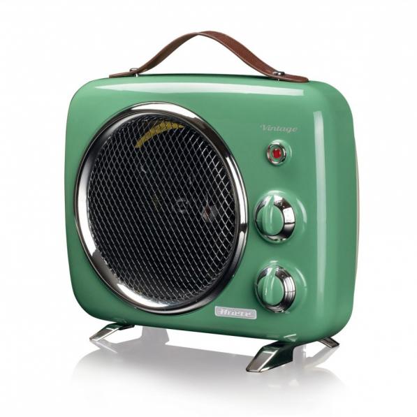 ARIETE 808 Vintage 2000 W zielony - termowentylator metalowy