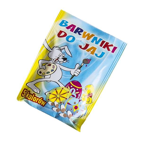 ac5dbbbb5ee6ac Barwniki spożywcze do jajek 5 KOLORÓW - sklep internetowy - garneczki.pl