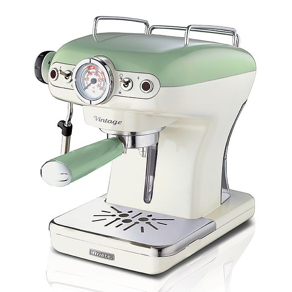 ARIETE Vintage 900 W zielony - ekspres do kawy ciśnieniowy