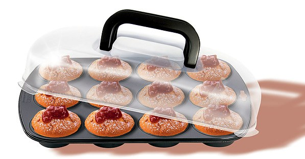 Forma do pieczenia 12 muffinek metalowa KAISER BAKE TAKE