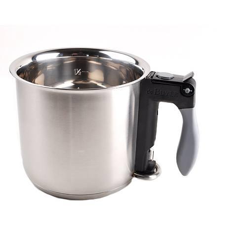 MILCHTOPF Topf Kochopf  Saucentopf Wasserbadkocher 1,3L
