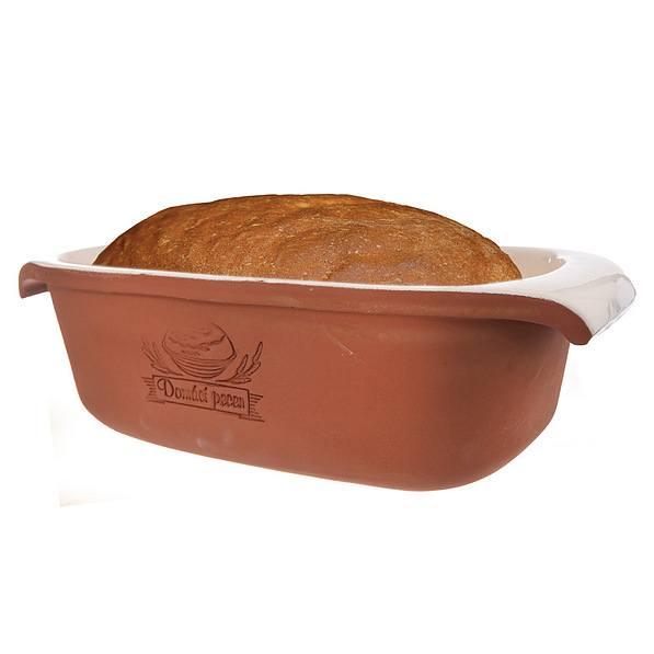 BROTBACKFORM Keramik Brot Backform Kuchenform Brötchenform Brotform 30 cm
