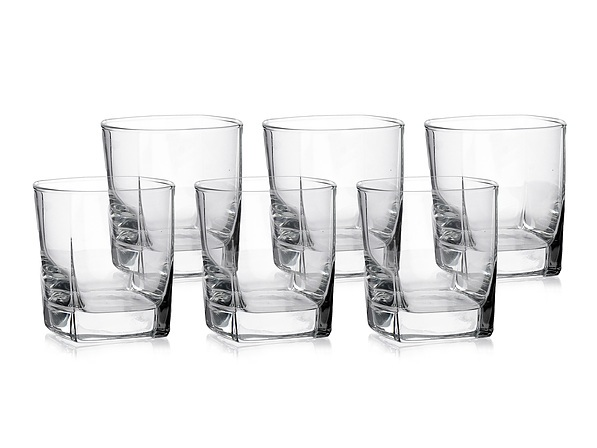 Komplet 6 szklanek do drinków LUMINARC STERLING 300 ml