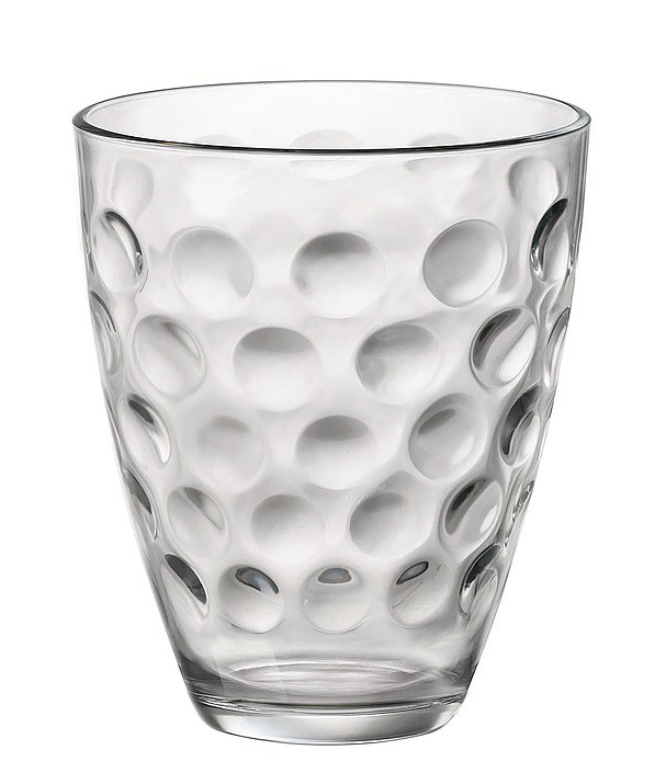 Komplet 6 szklanek do napojów BORMIOLI ROCCO DOTS ROCKS 390 ml