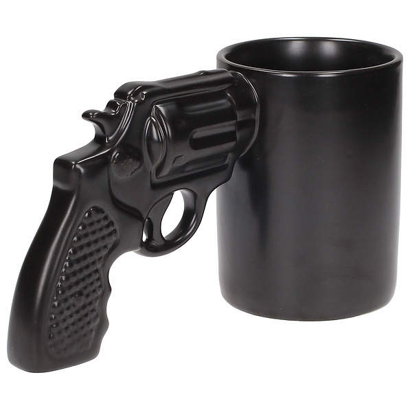 Kubek ceramiczny boss MAKE MY DAY PISTOLET 500 ml