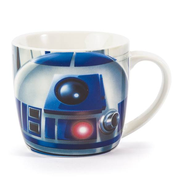 Kubek porcelanowy DISNEY STAR WARS R2-D2 DROID NIEBIESKI 300 ml