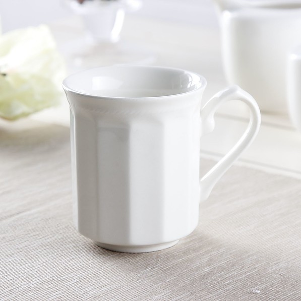 Kubek porcelanowy ARCTIC WHITE 280 ml