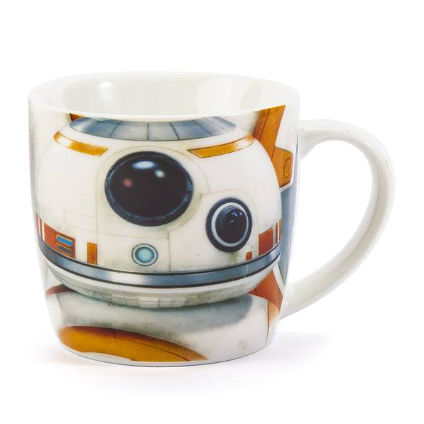 Kubek porcelanowy DISNEY STAR WARS BB-8 DROID BIAŁY 300 ml