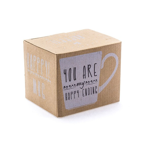 Kubek porcelanowy DUO YOU ARE MY HAPPY ENDING 450 ml