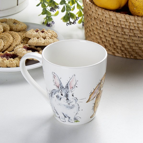 Kubek porcelanowy PRICE AND KENSINGTON COUNTRY BUNNY 350 ml