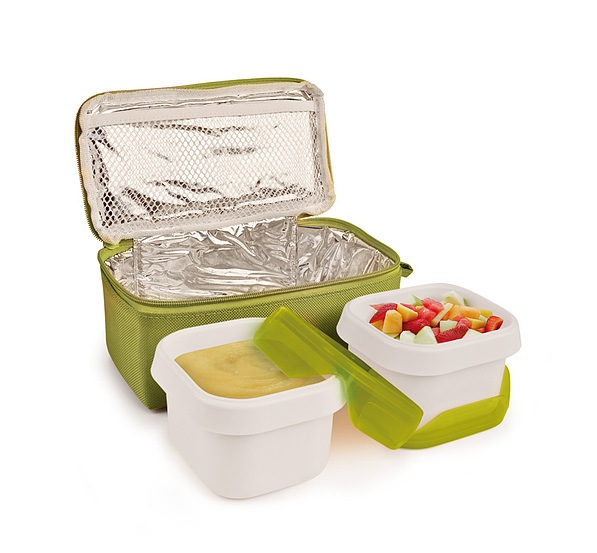 Lunch box IRIS NANO DUPLO ZIELONY