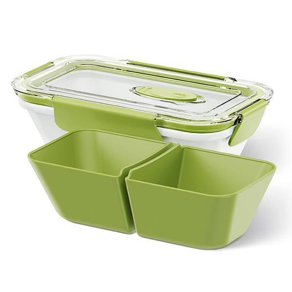 Lunch box plastikowy EMSA BENTO BOX LOW MAŁY