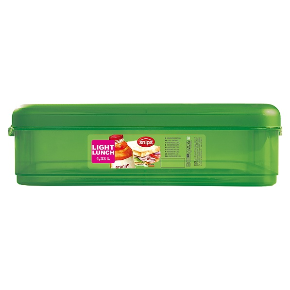 Lunch box plastikowy SNIPS ENERGY ZIELONY 1,3 l