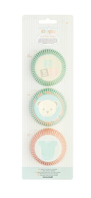 Papilotki / Foremki papierowe do muffinek KITCHEN CRAFT BABY 75 szt.
