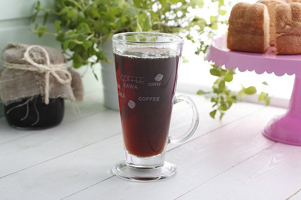 Szklanka do cafe latte CAFFEE MAT 260 ml