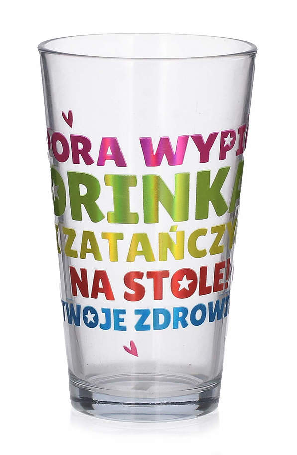 Szklanka do drinków i napojów PAN DRAGON DRINK 400 ml