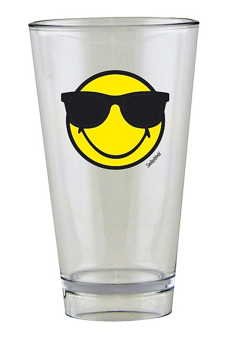 Szklanka do napojów ZAK DESIGNS SUNGLASSES SMILEY 300 ml