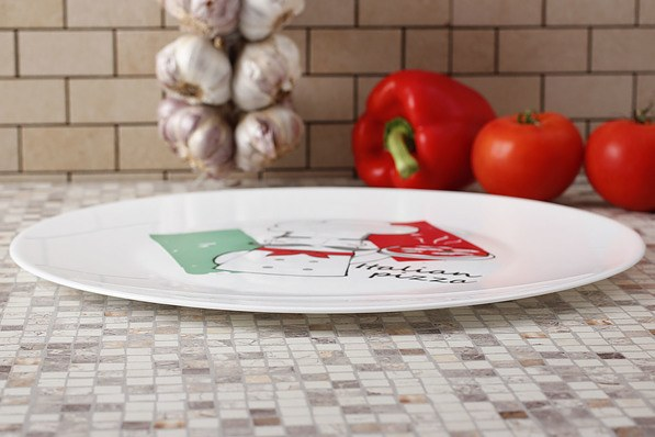 Talerz szklany do pizzy BORMIOLI ROCCO PIZZA CHEF 33 cm