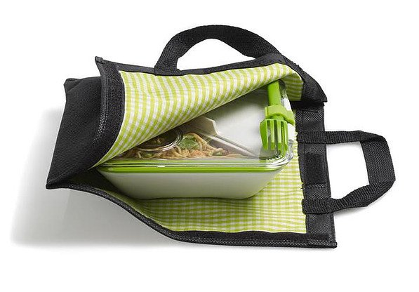 Torba na lunch box BLACK BLUM ZIELONA