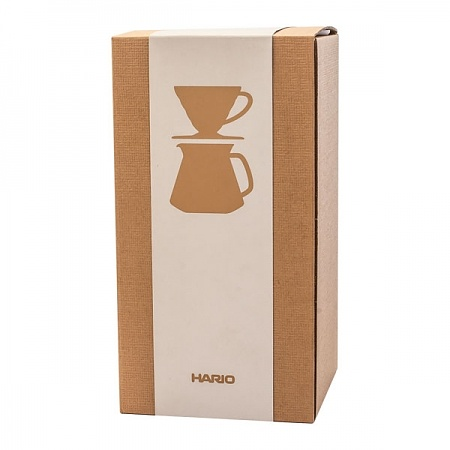 Zestaw do zaparzania kawy HARIO DRIPPER AND POT WHITE V60