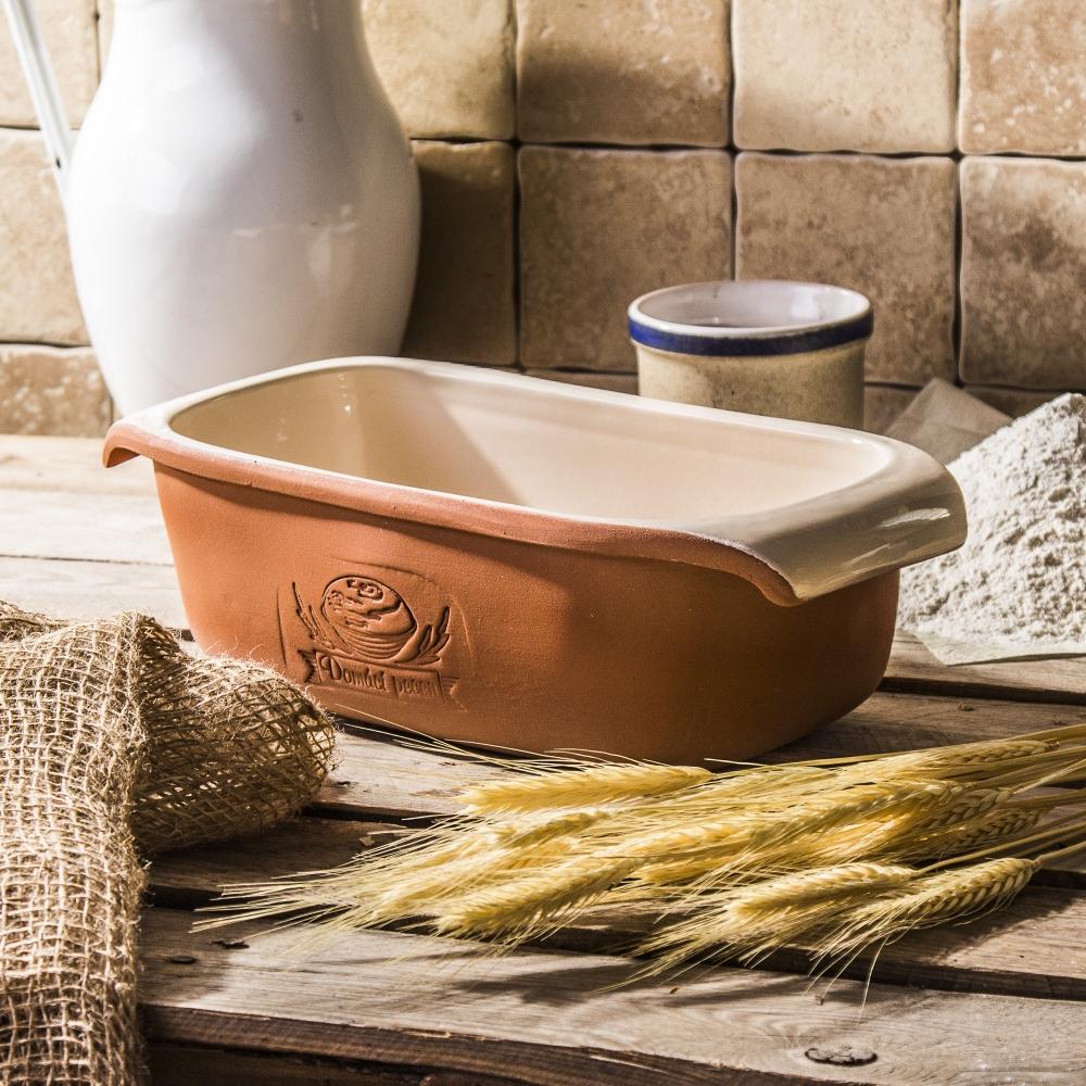 BROTBACKFORM Keramik Brot Backform Kuchenform Brötchenform