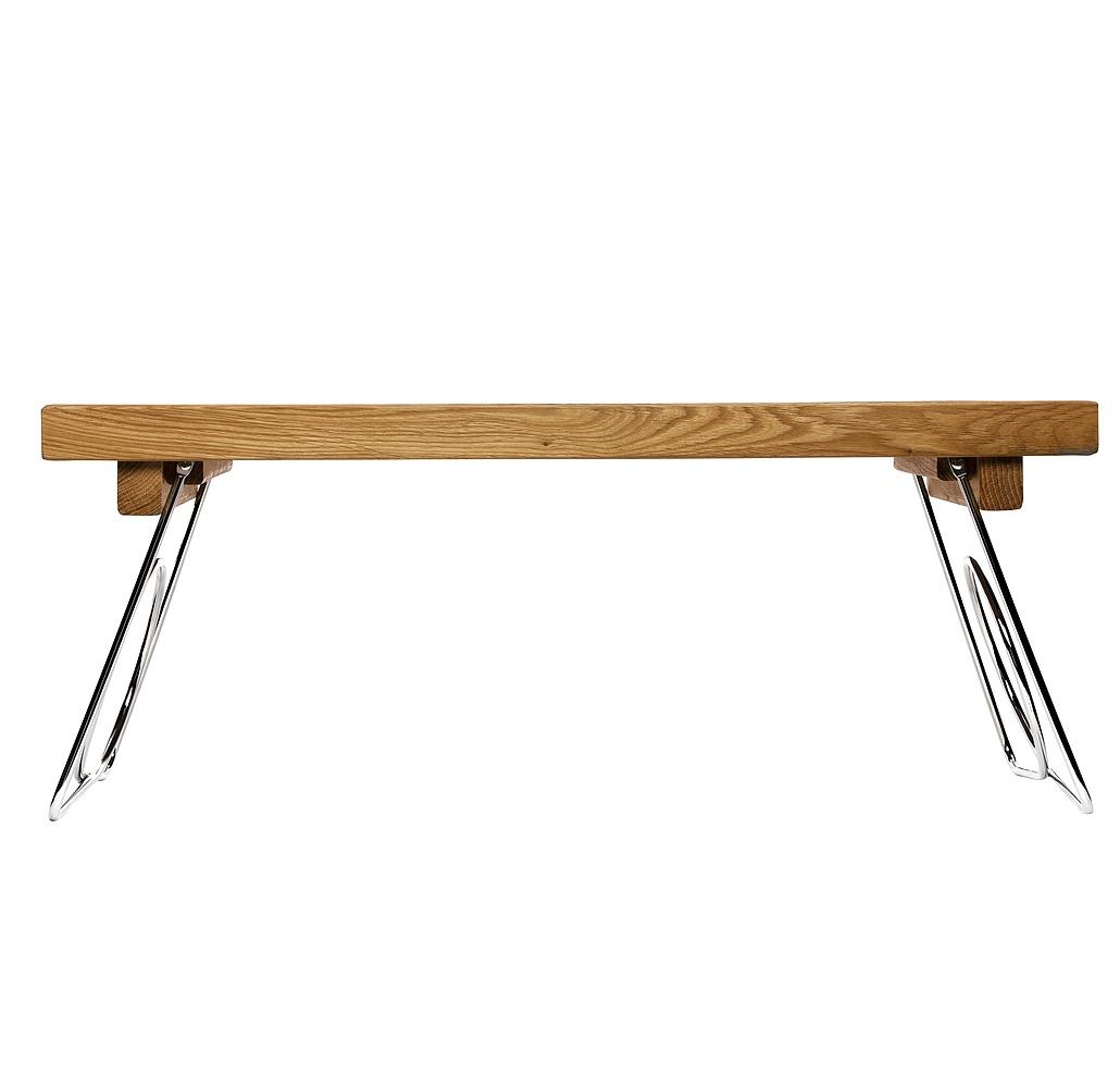 Stolik śniadaniowy Do łóżka Drewniany Sagaform Nature 50 X 30 Cm