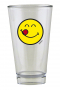 ZAK! DESIGNS Smiley Yummy 300 ml - szklanka do napojów szklana