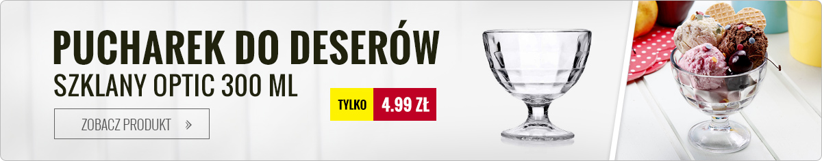 Pucharek na lody Optic