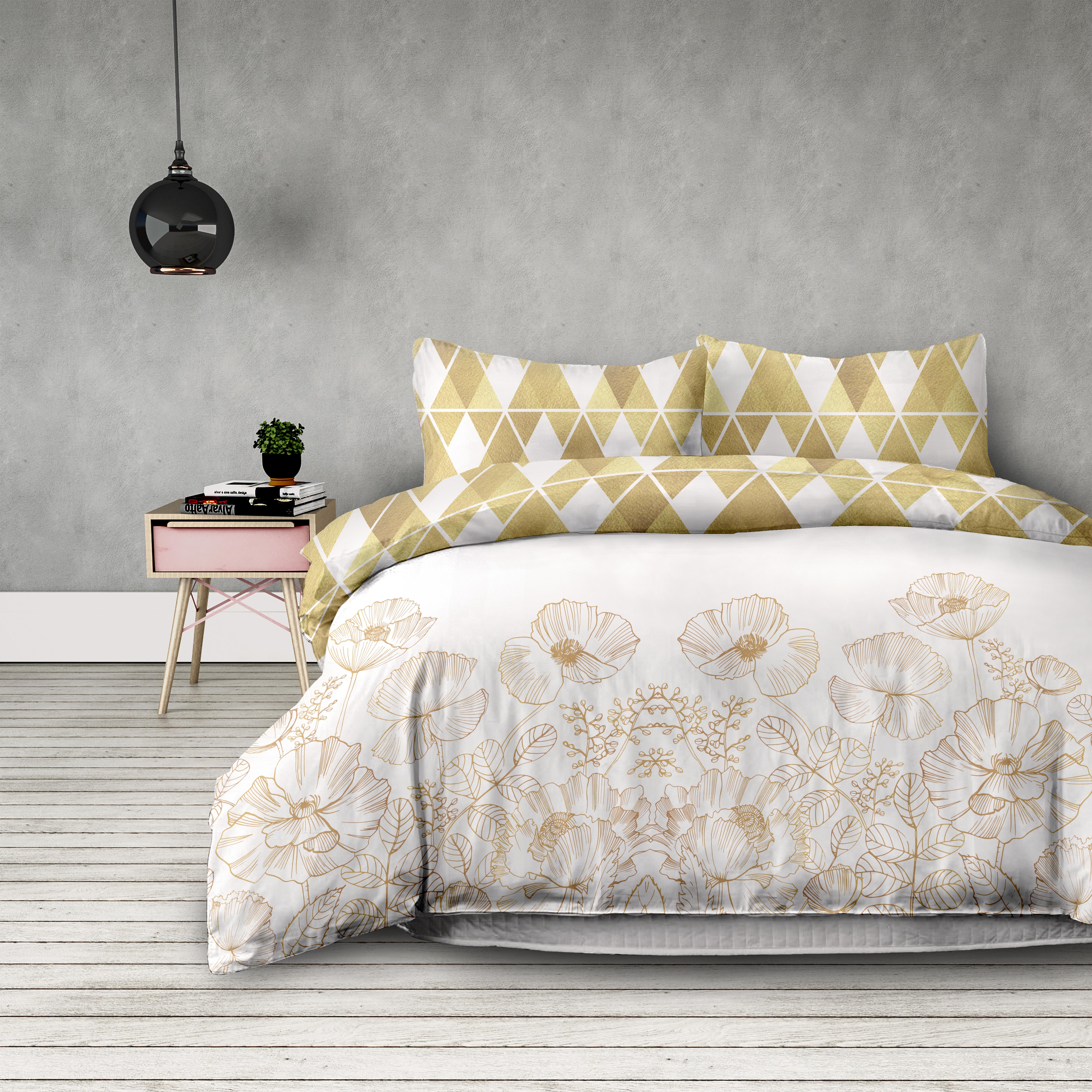 BETTWÄSCHE 200x200 cm Flanell Bettbezug Kissenbezug doppelseitig    Förderung