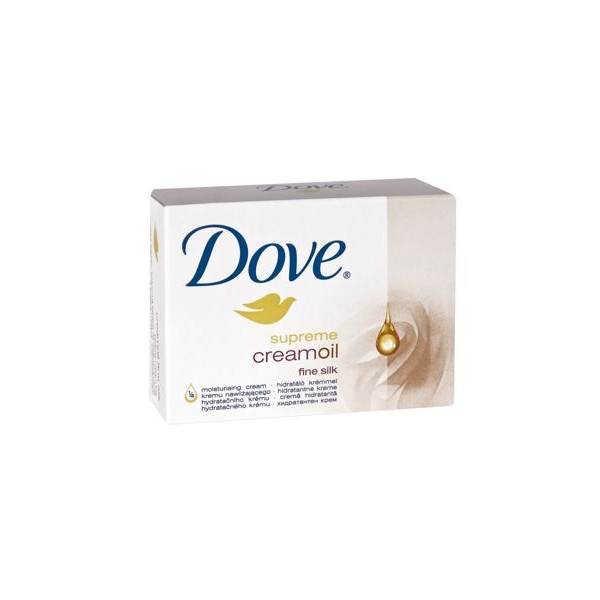 Mydło w kostce do rąk DOVE SILK CREME OIL 100 g