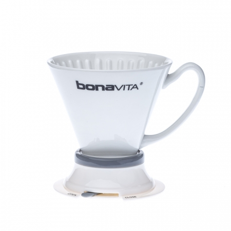 Dripper / Filtr do kawy porcelanowy BONAVITA WIDE BASE PORCELAIN IMMERSION DRIPPER