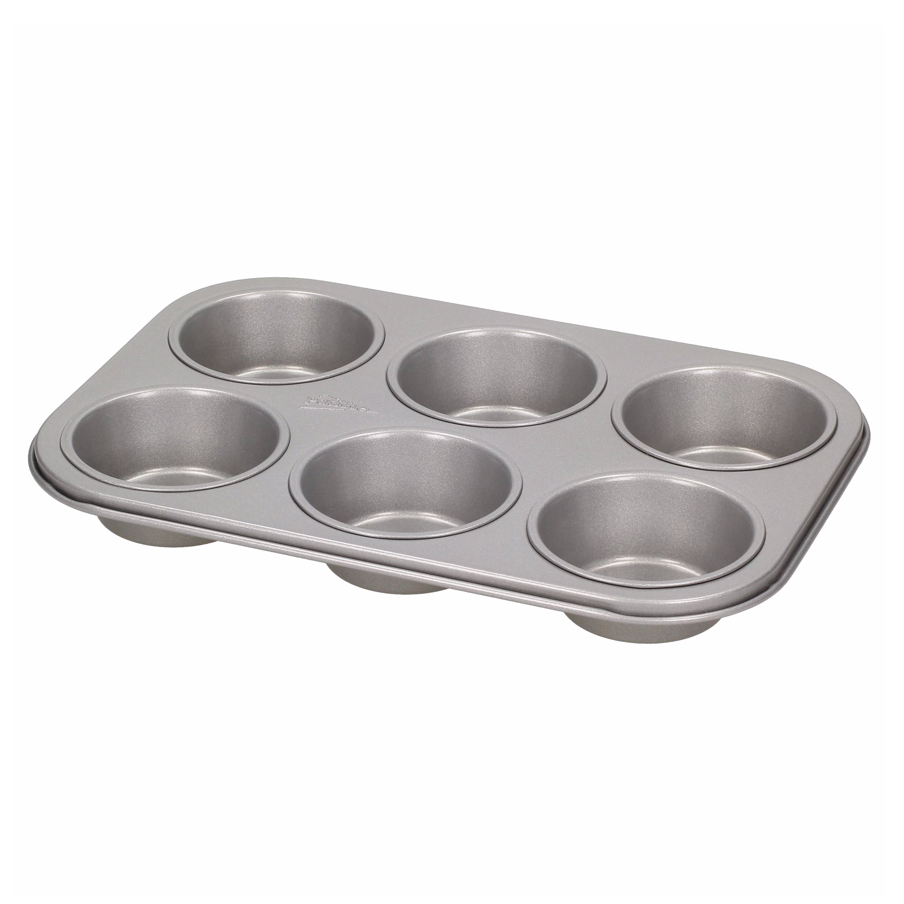 Forma do pieczenia 6 muffinek metalowa PATISSE SILVER