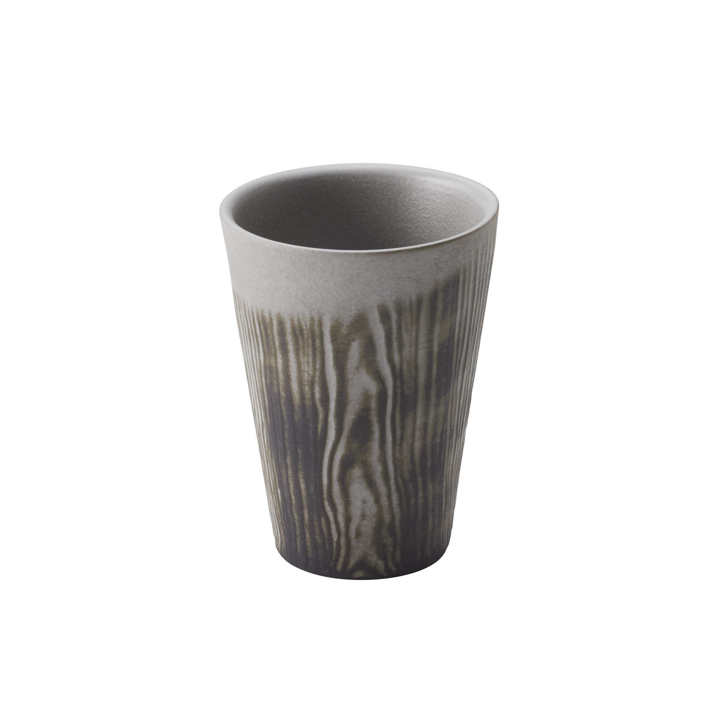 Kubek do espresso porcelanowy REVOL ARBORESCENCE SZARY 80 ml