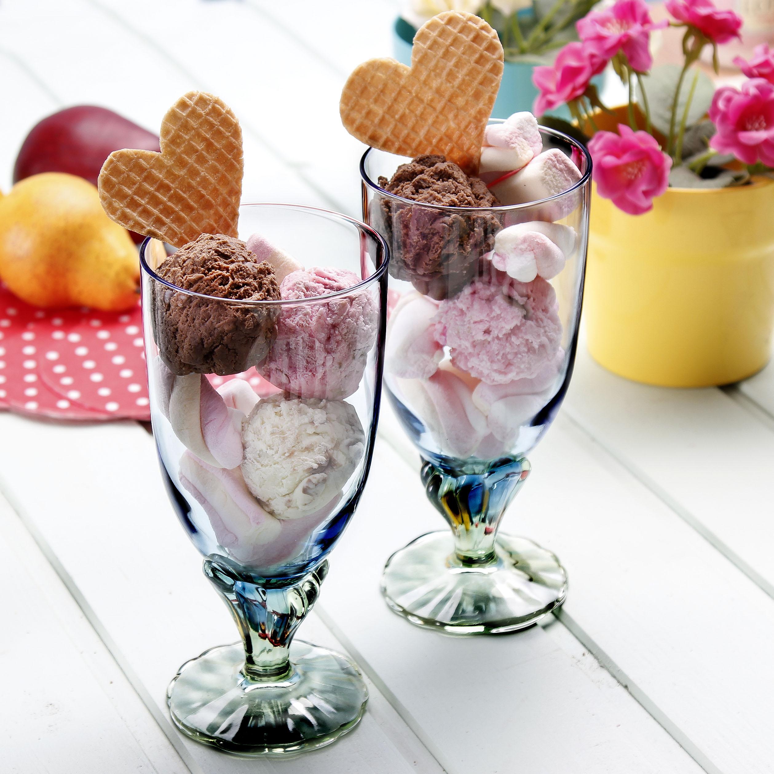 Как оформить мороженое фото