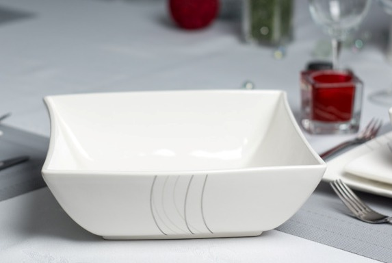 Salaterka porcelanowa DUO FALA 2,5 l