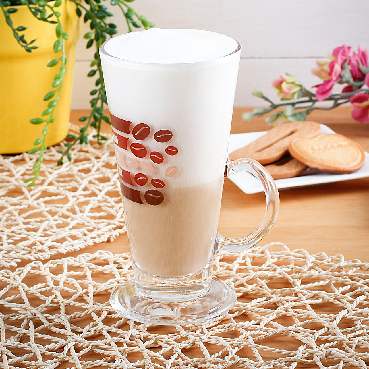 Szklanka do kawy cafe latte KAFEJKA 260 ml