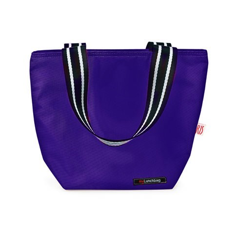Torba na lunch IRIS LUNCH BAG TOTE FIOLETOWY
