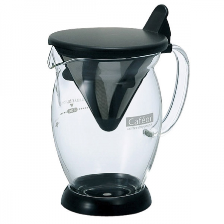 Dripper do kawy z dzbankiem szklanym HARIO CAFEOR DRIPPER COFFEE POT 0,3 l